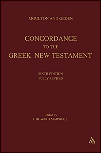 Concordance to the Greek New Testament