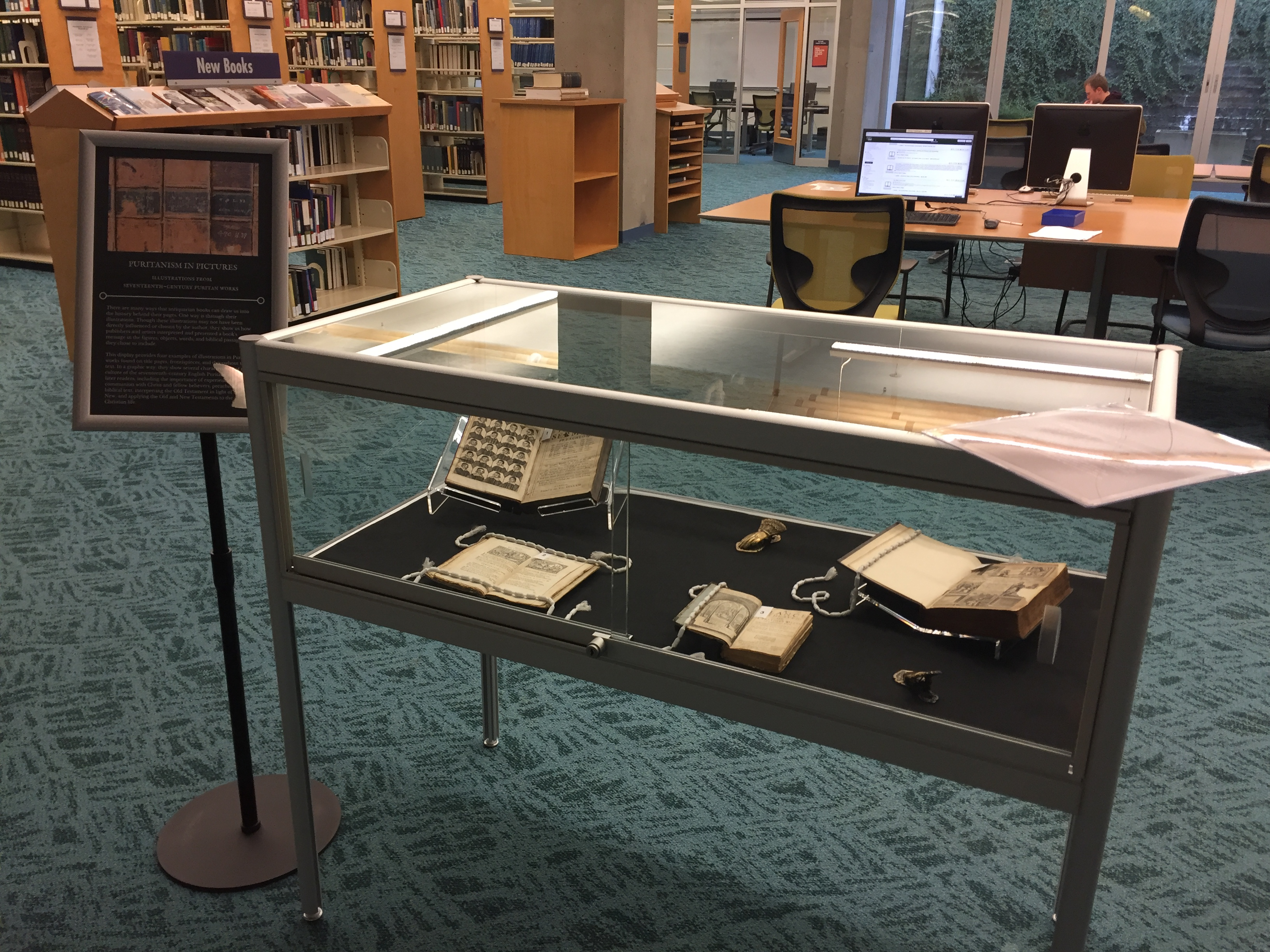 New Rare Book Display on Illustrations