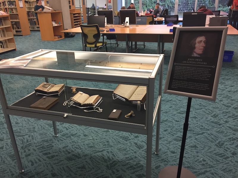 Rare Book Display on John Owen