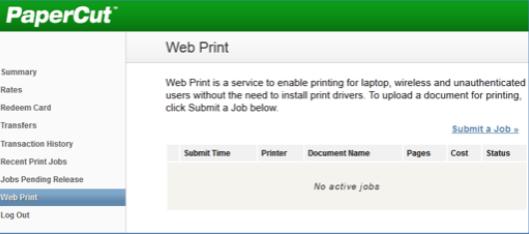 Papercut Web Print