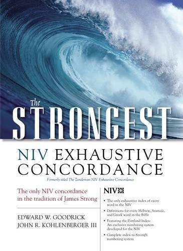 The Strongest NIV Exhaustive Concordance