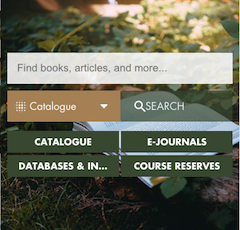 A New Website for the Allison Library